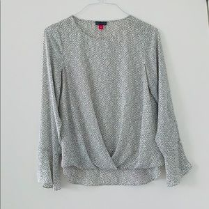 Vince Camuto Blouse with Dot Pattern